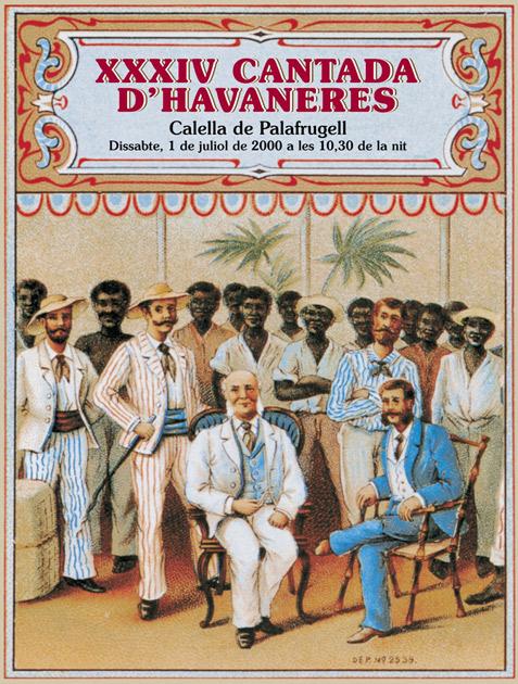 XXXIV CANTADA D'HAVANERES DE CALELLA DE PALAFRUGELL